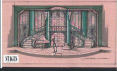 Set Design Theatre, Prop Design, Stage Design, Design Model, Doll House Play, Scenography Theatre, Stage Curtains, Stage Set, Scenic Design