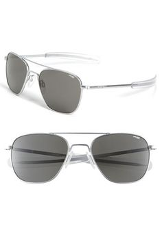 Randolph Engineering 55mm Aviator Sunglasses available at #Nordstrom