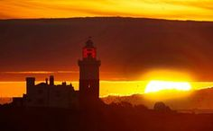 Northumberland, England The sun rises over Coquet Island off the coast of Northumberland, as Easter holiday temperatures will spring to summertime heights this weekend with the hottest day of the year expected to arrive on British shores.