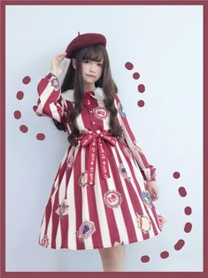 ✦Cheap Lolita Dresses✧: Gothic Lolita Dress, Jumpers and Creepy Cute Fashion, Quirky Fashion, Kawaii Fashion, Lolita Fashion, Teen Fashion, Gothic Lolita Dress, Lolita Style, One Piece Dress, Dress Up