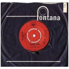"""7"""" 45RPM Young Girl/I'm Losing You by The Union Gap Featuring Gary Puckett from CBS"""