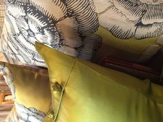 Decorative pillows from Fino Showroom
