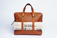 Delvaux Newspaper bag