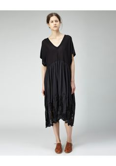 zucca - embroidered lace dress