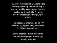 US_Mind_control_weapons_in_Iraq___China_CCTV7__Eng__92603