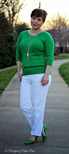 In the Green - A Pocketful of Polka Dots