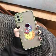 Funny Transparent Cartoon Astronaut Cute Phone Case For iPhone 12 11 Pro XS MAX X 7 XR SE2020 8 6Plus | Touchy Style Cute Iphone 5 Cases, Cute Cases, Iphone Phone Cases, Iphone 8, Apple Iphone, Cheap Iphones, Plus 8, Iphone Models, Protective Cases