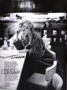 "Eva Herzigova in ""Star Quality"" by Dewey Nicks for Vogue US October 1992"