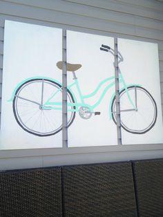 DIY Vintage Bicycle Art