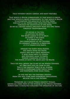 the emerald tablet : your thoughts create your reality, much more than that, you are eternal source energy! You can chose to experience yourself any way you want. Be happy and joyous and it will all fall in place. The last 2 tablets are to never be rel Emerald Tablets Of Thoth, Knowledge And Wisdom, Spiritual Wisdom, Spiritual Images, Quantum Physics, Mind Body Soul, Deceit, Philosophy, Spirituality