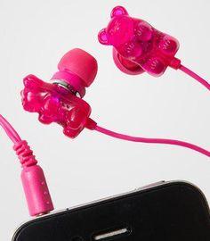Haribo Bears earphones <3