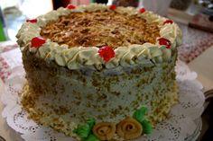 Torta celestial - Receta antigua www.omigretchen.de Tiramisu, Celestial, Cake, Ethnic Recipes, Foodies, Desserts, Gourmet, Crack Cake, Old Recipes