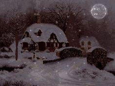 Illuminations et flocons de neige...