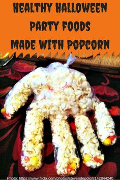 Healthy Halloween Foods Made with Popcorn #NebExt