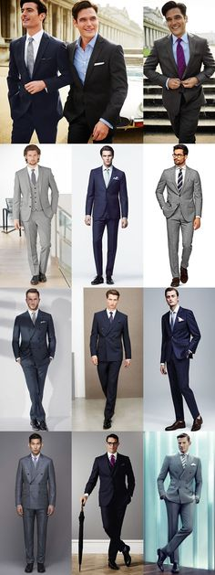 Men's Spring Suiting Guide: The Classic Suit Lookbook Inspiration