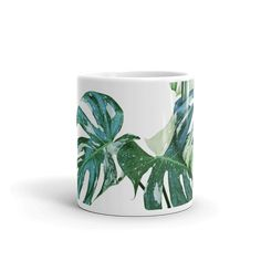 Latte Mugs, Coffee Mugs, The Last Drop, Kitchenware, Tableware, Monstera Deliciosa, Coffee Drinkers, Cold Drinks, Travel Size Products