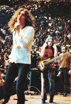 Robert Plant and John Paul Jones of Led Zeppelin #RobertPlant #LedZeppelin #LedZep #Zep JohnPaulJones