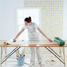 Measure, cut, paste, repeat. Wallpapering is easy with our step-by-step guide. Pick a paper and get started.