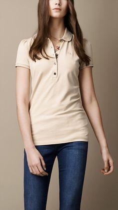 Check Placket Polo Shirt | Burberry