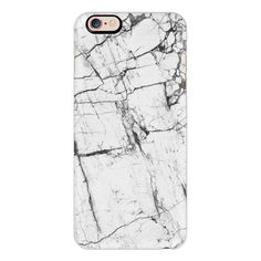 iPhone 6 Plus/6/5/5s/5c Case - Gray Marble ($40) ❤ liked on Polyvore featuring accessories, tech accessories, phone, phone cases, fillers, tech, iphone case, iphone cover case, slim iphone case and apple iphone cases
