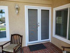Double doors with double ProVia screens. Back Doors, Entry Doors, Home Estimate, Double Doors, Screens, Storm Doors, Screen Doors, Windows, Modern