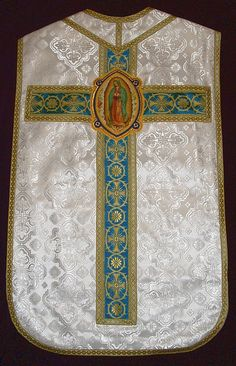 Our Lady of Guadalupe Roman Vestments in Russian Fabric