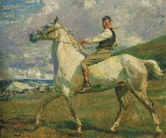 Munnings - the grey horse