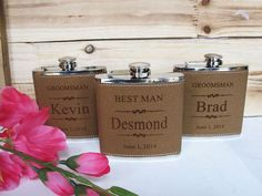 Groomsman Gift Flask Groomsmen Gift Flask by AwardSourceLLC