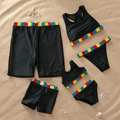 * Please add each size separately to your shopping cart. * Soft and comfy * Material: polyester, Spandex * Machine wash, tumble dry * Imported Kids Outfits Girls, Cute Outfits For Kids, Girl Outfits, Family Set, Family Goals, Mommy And Me Swimwear, Best Friend Outfits, Matching Couple Outfits, Mother Daughter Outfits