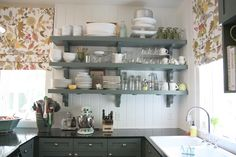 shelving for kitchen