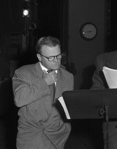 James Cagney performing Counselor at Law on the United States Steel Hour radio program in 1949. credit gettyimages
