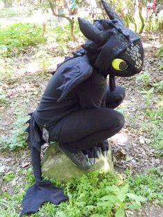 """Costume di Halloween da Sdentato di """"Dragon Trainer"""""""