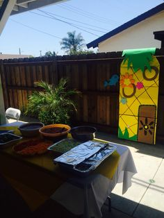 Spongebob party decor