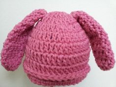 Crochet Baby Bunny Hat: Free Pattern - Michele Gaylor's Poochie Baby