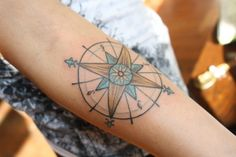 Compass tattoo would be sweet