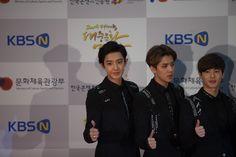 2015 Korean Popular Culture and Arts Awards / Oct 29th Photo Zone CHAN YEOL, LUHAN, KRIS 찬열, 루한, 크리스 ▶한국콘텐츠진흥원 ▶KOCCA ▶2015 대중문화예술상 ▶대한민국 대중문화예술상 ▶2015 Korean Popular Culture and Arts Awards