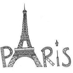 Eiffel Tower Art Therapy Coloring Book Page Free Printable Doodle To Color For Grown Ups From Paris Taipei