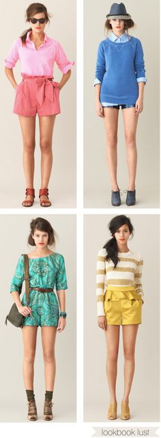 colorful jcrew summer looks...absolutely love them