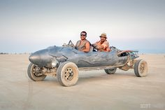 The Rocket Car at Burning Man 2017. (Photo by Scott London)