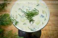 You'll be cool as a cucumber with this healthy, delicious summer soup! Soup Recipes, Cooking Recipes, Easy Recipes, Yogurt, Farmers Almanac, Tzatziki, Cucumber, Easy Meals, Vegetarian