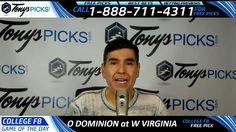 Old Dominion vs. Virginia Tech Hokies Free NCAA Football Picks and Predi...