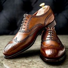 men outfits - The Best Men's Shoes And Footwear Beautiful classic leather brogues menswear shoes brogues Fashion Inspire Fashion inspiration Magazine, beauty ideaas, luxury, trends and Gentleman Shoes, Gentleman Style, Gentleman Fashion, True Gentleman, Leather Brogues, Leather Shoes, Oxfords, Loafers, Brown Brogues