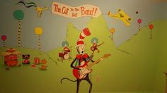 Cat in the hat band for Baby Laster's dr. Seuss  nursery