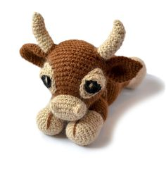 Patchwork Moose: Clementine the Cow