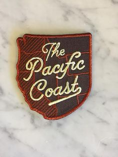 Designed and made in the Pacific Northwest; these iron on embroidered patches are the perfect way to show your love for the Northwest. Easy iron on application make this patch an easy way to add a lit