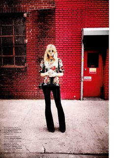visual optimism; daily fashion fix.: youth in revoult: bregje heinen by serge leblon for us elle september 2012