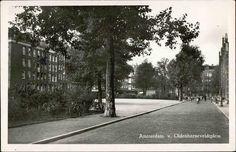 Het Van Oldenbarneveldtplein. Hier woonde mijn vader Jan Kelpin met zijn moeder (Oma Koekel) en zijn broer Frits.