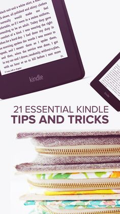 21 Essential Kindle Tips And Tricks