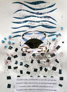 les petites têtes de l'art: Le petit crabe