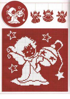 Point de croix Noël */* Christmas Cross stitch